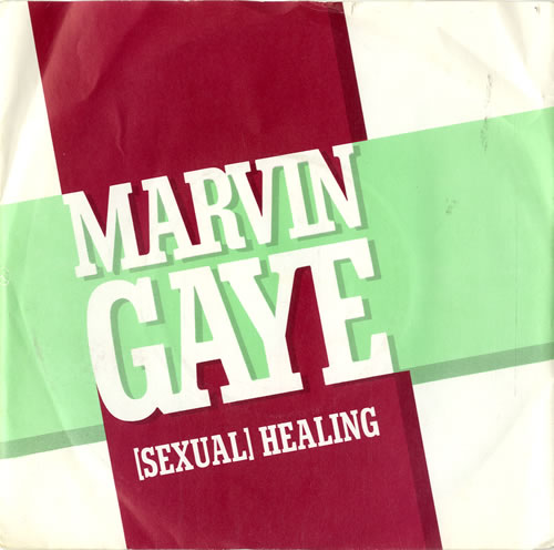 "Marvin Gaye (Sexual) Healing - P/S 7"" vinyl single (7 inch record) UK MVG07SE601568"