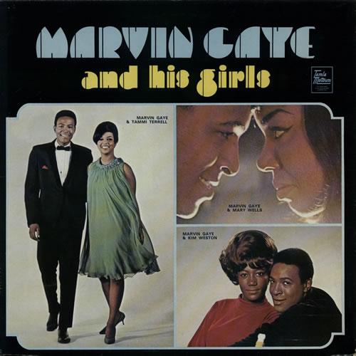 Marvin Gaye And His Girls vinyl LP album (LP record) UK MVGLPAN588316