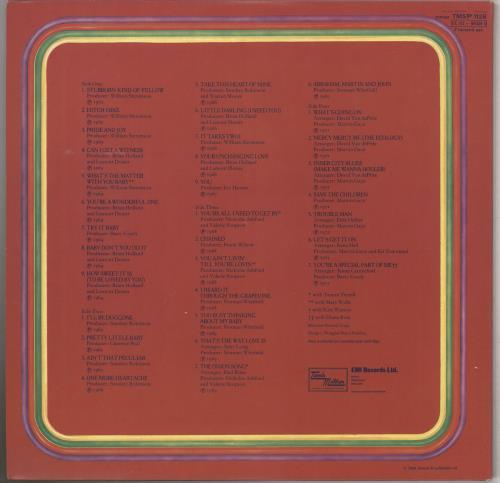 Marvin Gaye Anthology 2-LP vinyl record set (Double Album) UK MVG2LAN281699