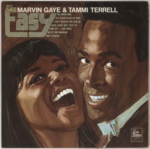 Marvin Gaye Easy vinyl LP album (LP record) UK MVGLPEA713095