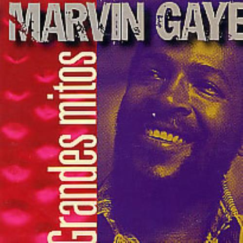 "Marvin Gaye Grandes Mitos CD single (CD5 / 5"") Spanish MVGC5GR264048"