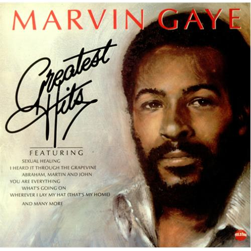 Marvin Gaye Greatest Hits vinyl LP album (LP record) UK MVGLPGR425676