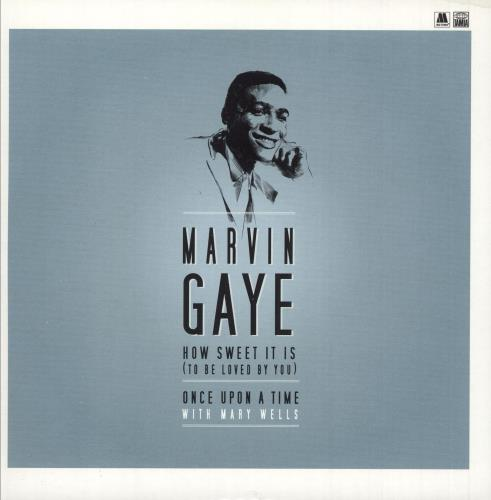 """Marvin Gaye How Sweet It Is (To Be Loved By You) - 180g -RSD 2015 7"""" vinyl single (7 inch record) UK MVG07HO746061"""