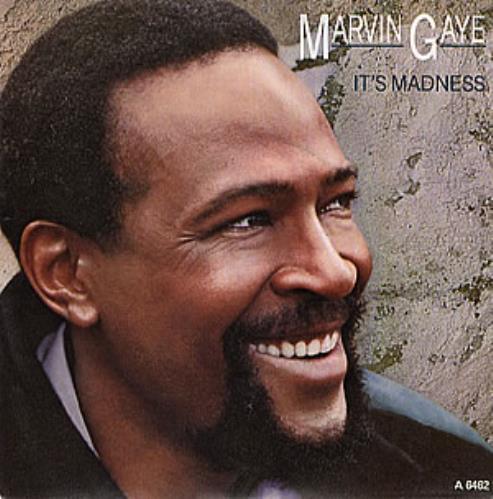 "Marvin Gaye It's Madness 7"" vinyl single (7 inch record) UK MVG07IT294165"