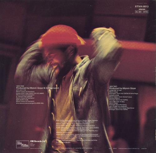 Marvin Gaye Let's Get It On vinyl LP album (LP record) UK MVGLPLE340150