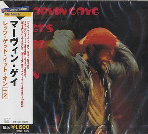 Marvin Gaye Let's Get It On CD album (CDLP) Japanese MVGCDLE608988