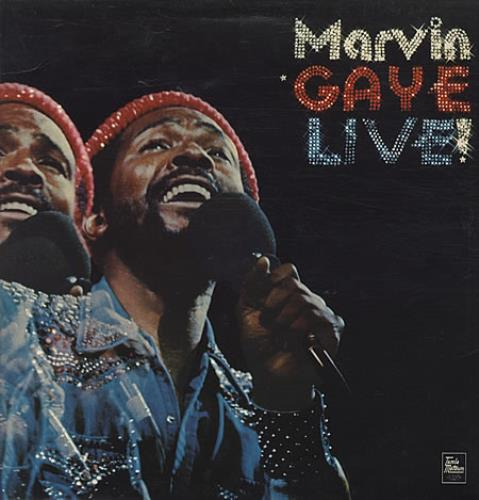 Marvin Gaye Live! - Factory Sample + Press Sheet vinyl LP album (LP record) UK MVGLPLI340113