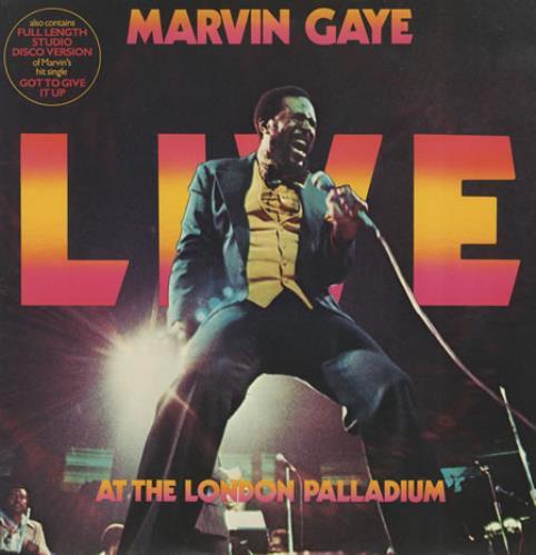Marvin Gaye Live At The London Palladium 2-LP vinyl record set (Double Album) UK MVG2LLI411504