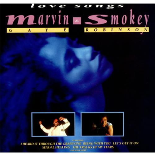 Marvin Gaye Love Songs vinyl LP album (LP record) UK MVGLPLO425622