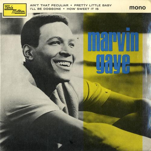 "Marvin Gaye Marvin Gaye EP 7"" vinyl single (7 inch record) UK MVG07MA583374"