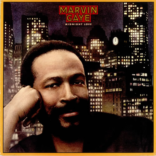 Marvin Gaye Midnight Love vinyl LP album (LP record) UK MVGLPMI316935