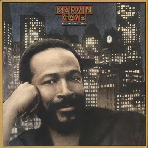 Marvin Gaye Midnight Love vinyl LP album (LP record) Dutch MVGLPMI645291