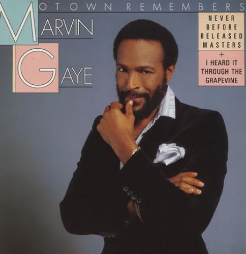 Marvin Gaye Motown Remembers vinyl LP album (LP record) German MVGLPMO374840
