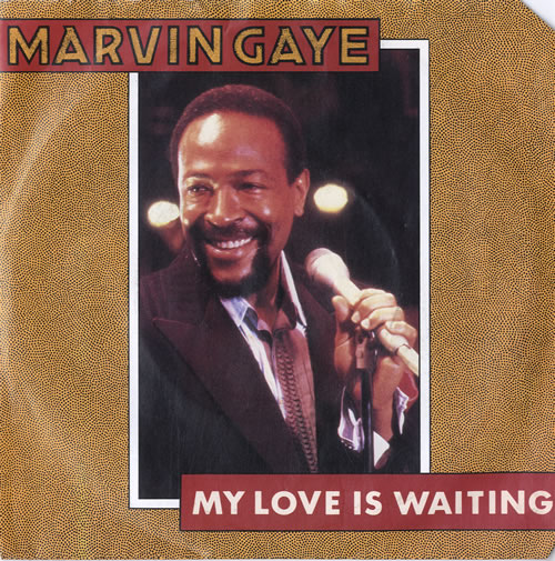 "Marvin Gaye My Love Is Waiting 7"" vinyl single (7 inch record) UK MVG07MY565567"