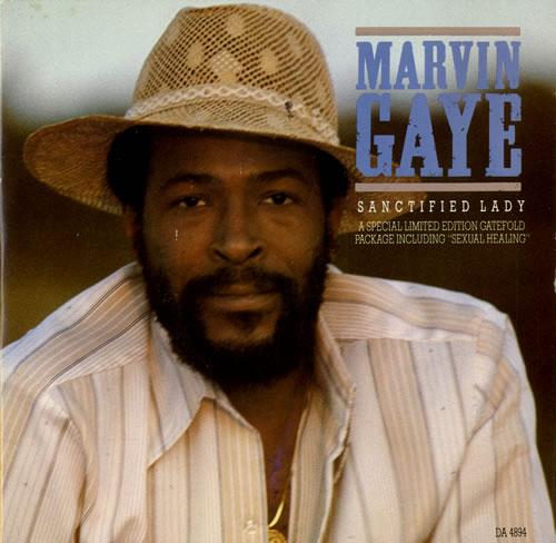 "Marvin Gaye Sanctified Lady 7"" vinyl single (7 inch record) UK MVG07SA576899"