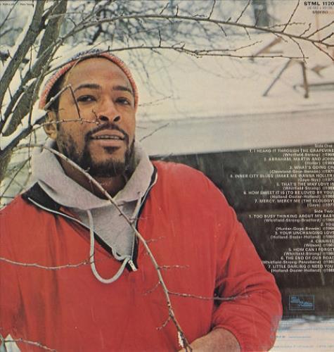 Marvin Gaye The Hits Of Marvin Gaye vinyl LP album (LP record) UK MVGLPTH443611