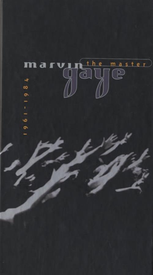 Marvin Gaye The Master 1961-1984 CD Album Box Set US MVG4CTH491844