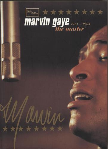 Marvin Gaye The Master 1961-1984 CD Album Box Set German MVGDXTH732983