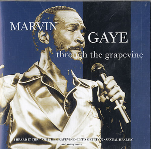 Marvin Gaye Through The Grapevine CD album (CDLP) UK MVGCDTH624325