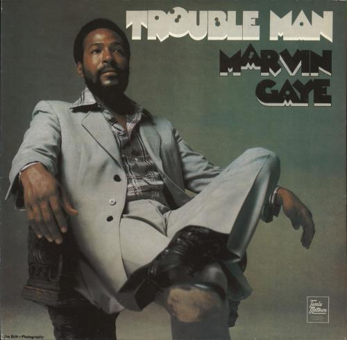 Marvin Gaye Trouble Man vinyl LP album (LP record) UK MVGLPTR709647
