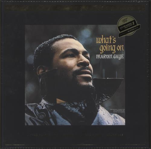 Marvin Gaye What's Going On - MoFi Super Vinyl - Sealed Box Vinyl Box Set US MVGVXWH713880