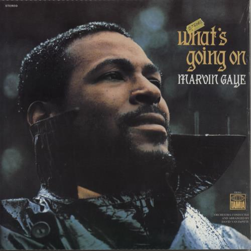 Marvin Gaye What's Going On - Sealed vinyl LP album (LP record) US MVGLPWH730486