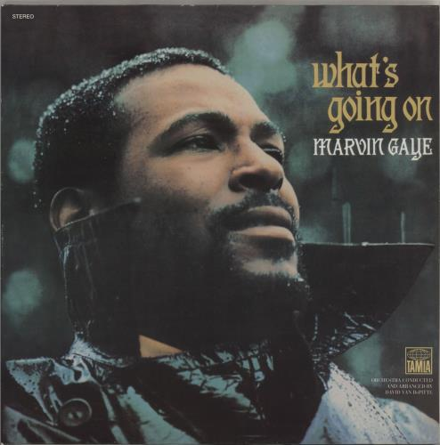 Marvin Gaye What's Going On vinyl LP album (LP record) US MVGLPWH398195
