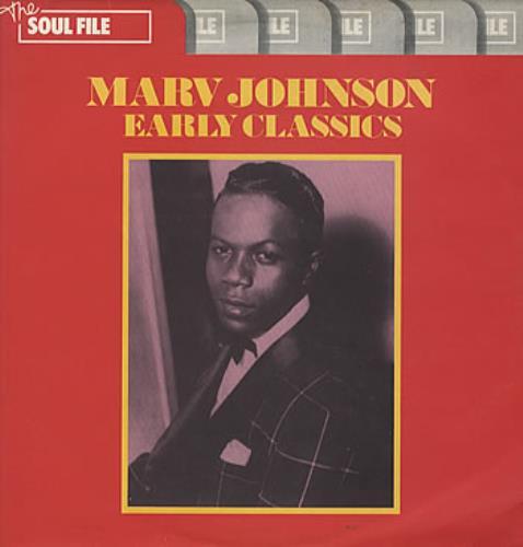 Marv Johnson Early Classics vinyl LP album (LP record) UK MVJLPEA325087