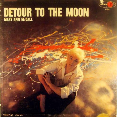 Mary Ann McCall Detour To The Moon CD album (CDLP) Japanese N16CDDE549499