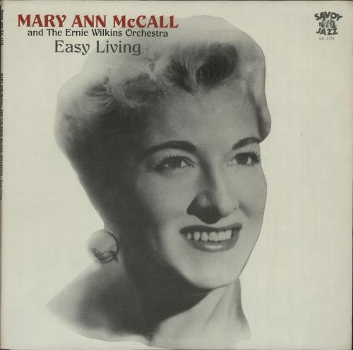 Mary Ann McCall Easy Living vinyl LP album (LP record) US N16LPEA678326