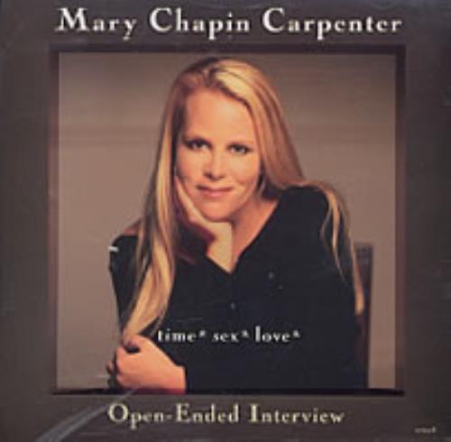 Mary Chapin Carpenter Time*Sex*Love Interview CD album (CDLP) US M-CCDTI198768