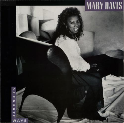Mary Davis Separate Ways vinyl LP album (LP record) UK MC9LPSE623579