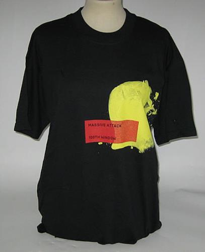 Massive Attack 100th Window T-Shirt - Medium t-shirt UK M-ATSTH393139