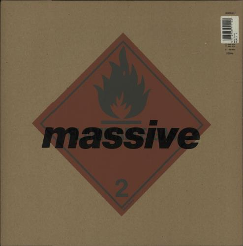 Massive Attack Blue Lines - Sealed LP + Cardboard envelope vinyl LP album (LP record) UK M-ALPBL680353