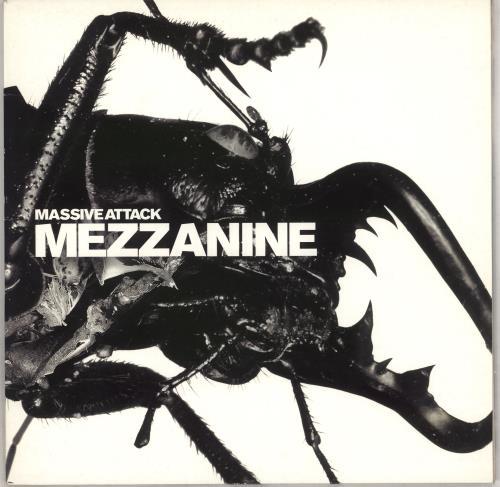 Massive Attack Mezzanine - 1st 2-LP vinyl record set (Double Album) UK M-A2LME497721