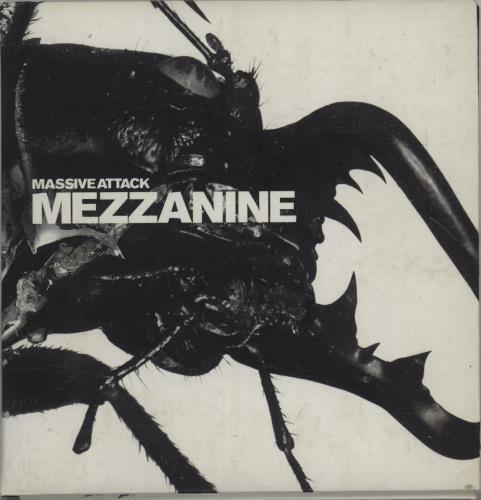 Massive Attack Mezzanine - EX CD album (CDLP) UK M-ACDME675734