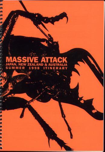 Massive Attack Mezzanine Live - Japan, New Zealand & Australia Itinerary Australian M-AITME707526
