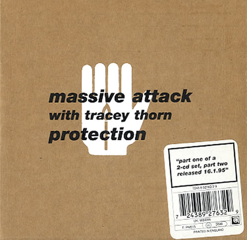 Massive Attack Protection - 2-CD cardboard pack 2-CD single set (Double CD single) UK M-A2SPR152978