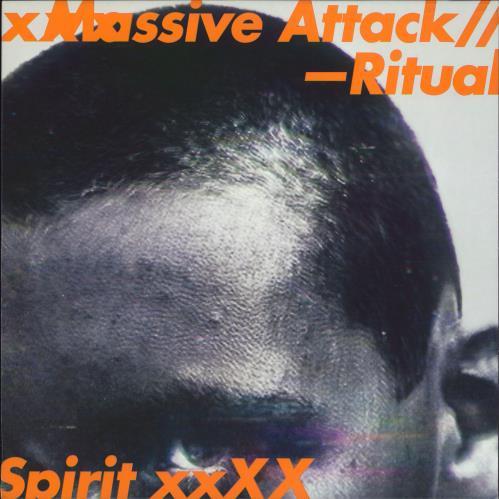 "Massive Attack Ritual Spirit - Grey Vinyl 12"" vinyl single (12 inch record / Maxi-single) UK M-A12RI658233"
