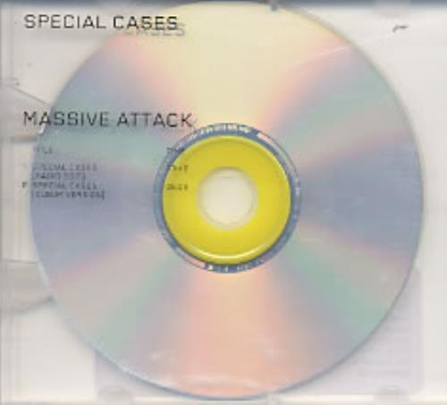 "Massive Attack Special Cases CD single (CD5 / 5"") UK M-AC5SP233394"