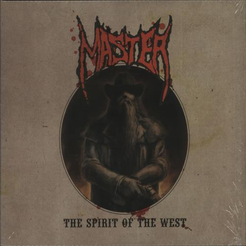 Master The Spirit Of The West - Red Vinyl vinyl LP album (LP record) German O25LPTH678718