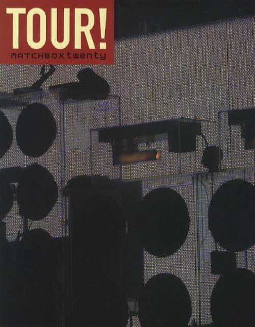 Matchbox 20 2003 Tour tour programme US MBXTRTO428325