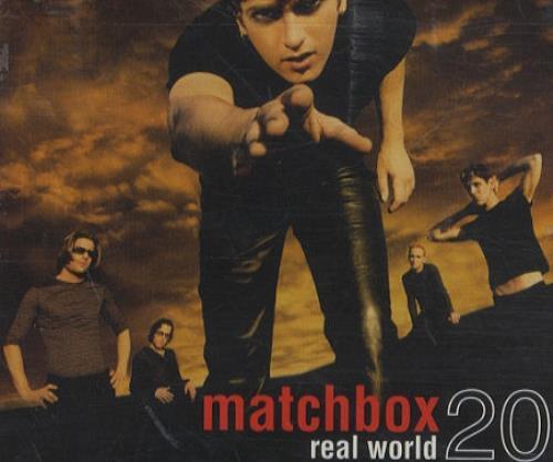 "Matchbox 20 Real World CD single (CD5 / 5"") European MBXC5RE165119"