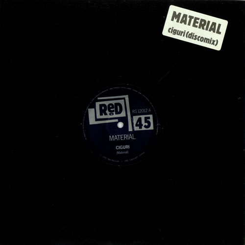 "Material Ciguri - Disco Mix 12"" vinyl single (12 inch record / Maxi-single) UK MTL12CI501028"