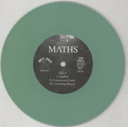 "Maths Ascent - Green Vinyl 7"" vinyl single (7 inch record) UK 2G207AS756755"