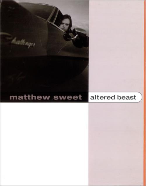 Matthew Sweet Altered Beast media press pack US MSWPPAL313636