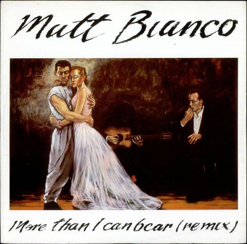 "Matt Bianco More Than I Can Bear - Remix 12"" vinyl single (12 inch record / Maxi-single) UK MTB12MO258390"