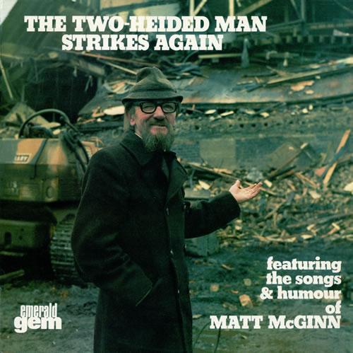 Matt McGinn The Two-Heided Man Strikes Again vinyl LP album (LP record) UK M13LPTH474509