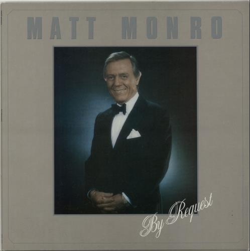 Matt Monro By Request vinyl LP album (LP record) UK MTNLPBY654875
