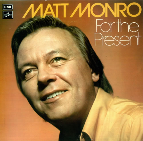 Matt Monro For The Present Uk Vinyl Lp Album Lp Record